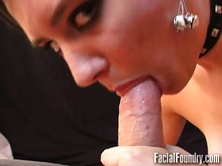 Young And Nervous Blowjob