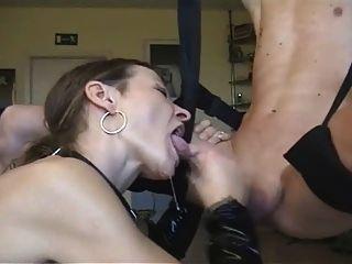 Slow sensual blowjob