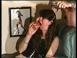 free lisbian double dildo porn