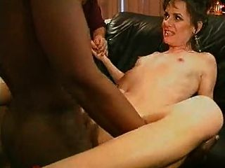 Waching His Sexy Wife Fucked Hard By A Big Black Cock...