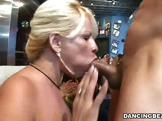 Partying For Cocks And Cum-shots In The Club