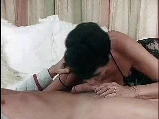 Gloria stutters plays with her huge tits - 1 part 2