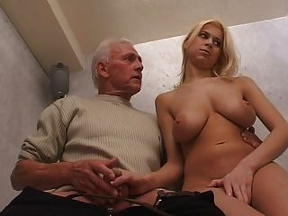 Old man and girl porn video