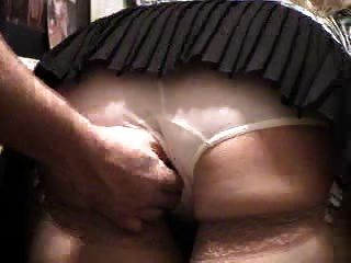Hubby Watching Neighbor Feel My Panties