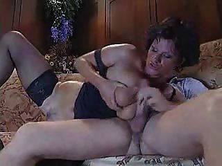 Italian Mature Aunty Fucking With Young Guy