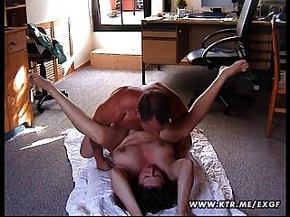 Chubby Amateur Wife Fucked On The Floor