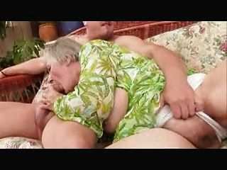 Ancient Granny Loves Sex Poolside