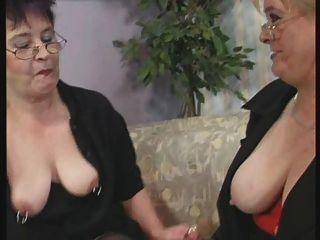Lesbo Granny Tube 73