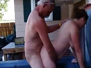 Blonde diana threesome fuck