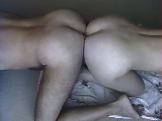 Man and girl ass to ass porn