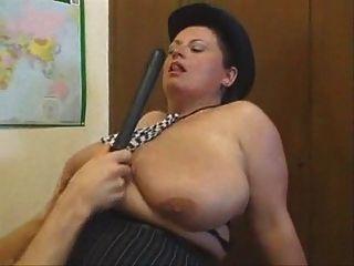 Busty Mature British Policewoman