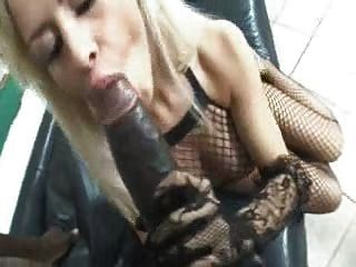 Eva Kent Sucks & Assfucks Huge Black For Messy Facial