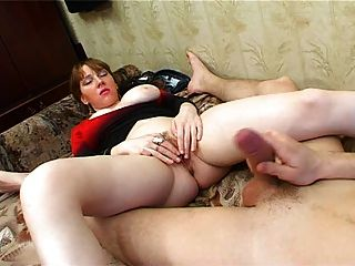 Husband directs wife being fucked den