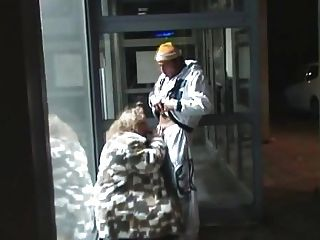 German Fat Woman Sucking And Fucking In Public...bmw