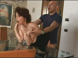 Girl sucking a flaccid cock