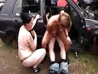 fucks daughter car Dad in