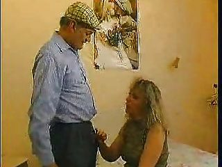 Old Granny Got Horny One Day And Decided To Pay Her Gardener For A Good Pussy Fuck!