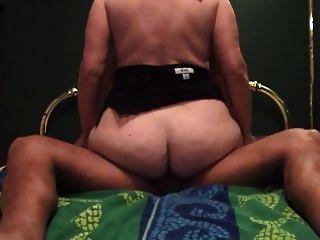 65 yo granny enjoys a big black cock - 1 4