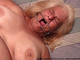 Pov Anal 60 Year Old Granny Wanda Gets Tied & Butt Fucked