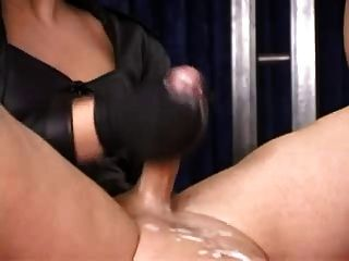 Hot blonde milf first bbc