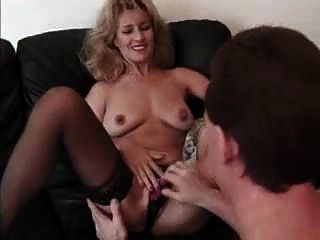 Elegant Granny Licked And Facial