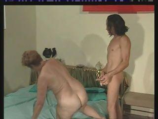 Big Ass German Oma Granny Like Hard Cock