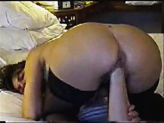 Pussy Fist & Huge Dildo In Ass (bad Sound)