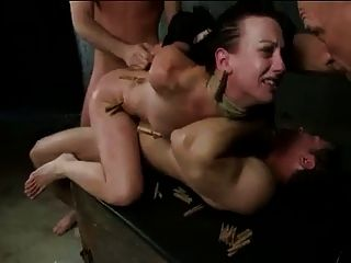 Brutal Bdsm Double Penetration Gangbang! Vol.5 By: Ftw88