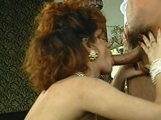 Classic Natural Big Breasted Woman Enjoying Her Man