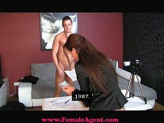 Femaleagent Accidental Casting Creampie