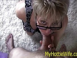Tracy Licks....sucks Off Young Neighbor After Work!!