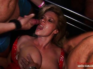 Part1+2: Cunt Pierced Blonde Gets Multiple Cumshots