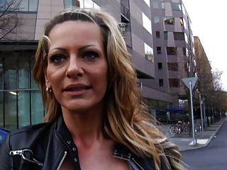German Girl With Big Fake Tits