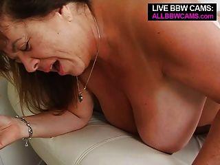 Mature Bbw Tit Fucking Open Pussy Fucking Part 2