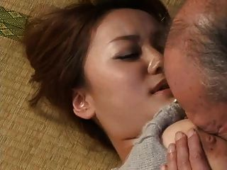Grandpa sex with young pretty women