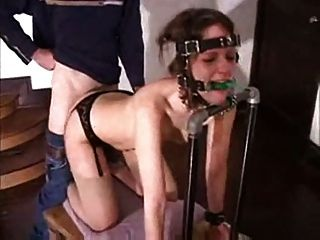 Porn bound and gagged
