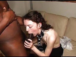 Slim White Wife Enjoying Bbc