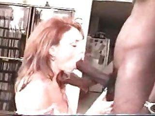 Husband Letting Redhead Wife Enjoy