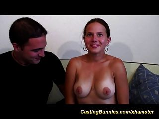 Her First Anal Casting