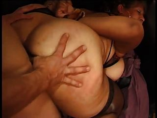 image French mature n49b anal bbw mom in interracial party sex