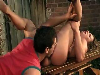 gay shemale randers creampie in gangbang