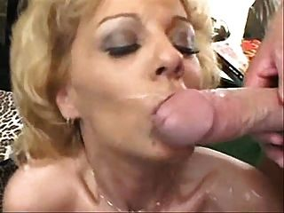 Facials mature comp and german blonde pussy