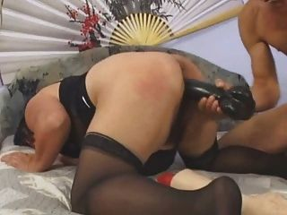 Fat Mature Loves Big Toys And Fist Fucking