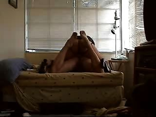Gf Uses Strap-on With Me On Bed