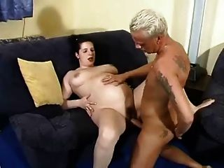 Chubby anal action