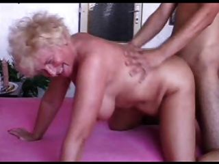 Sexy Mom N102 Blonde Bbw Mature And A Young Man