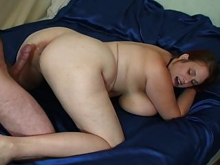 Bbw farts during anal fuck