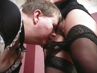 Sniffing And Lick Panty