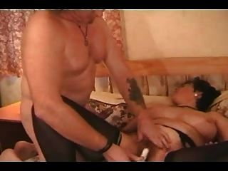 Busty Mature In Stockings Fucks The Repairman