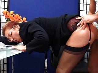 22yo adrienn secretary bdsm real casting - 2 part 7